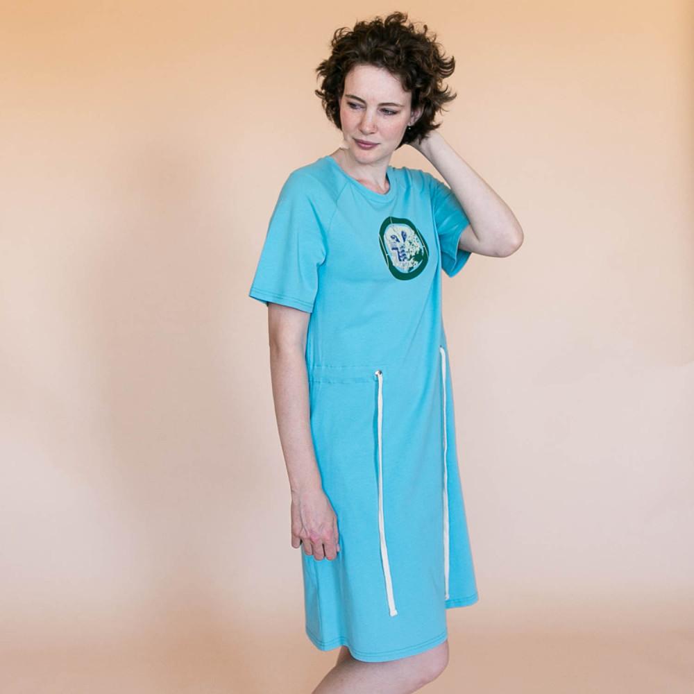 Сукня collage blue