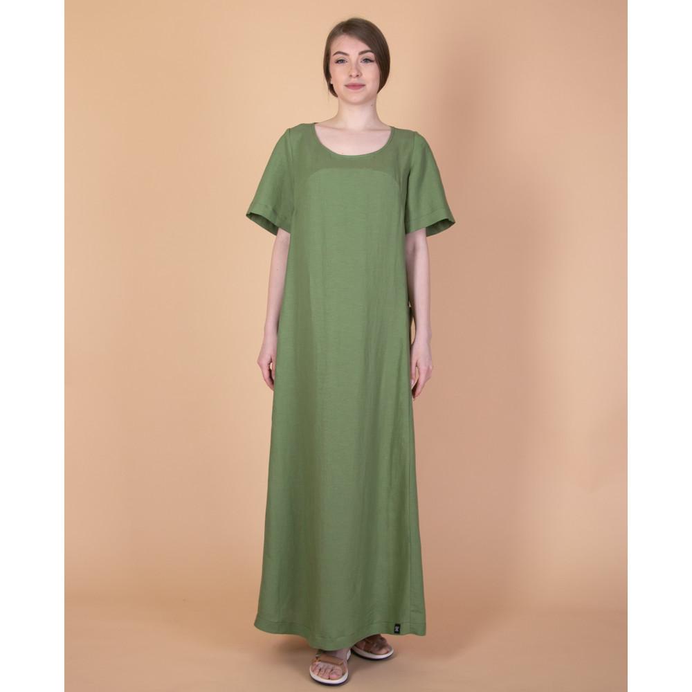 Зображення Сукня максі зелена №1