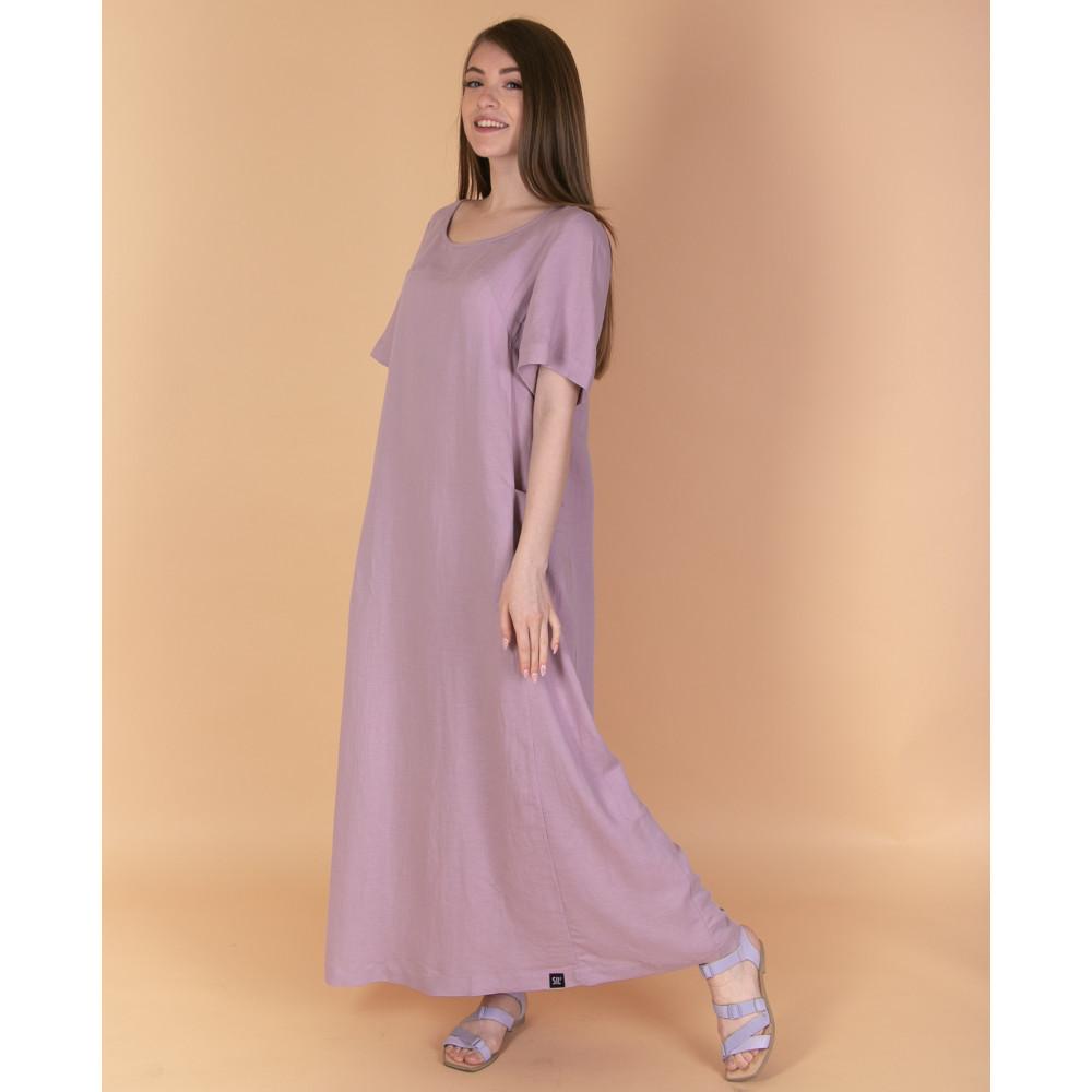Зображення Сукня максі рожева №1