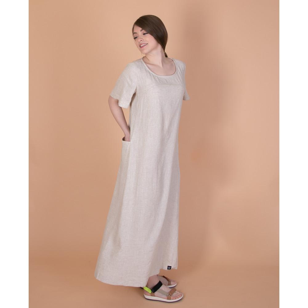 Зображення Сукня максі молочна №1