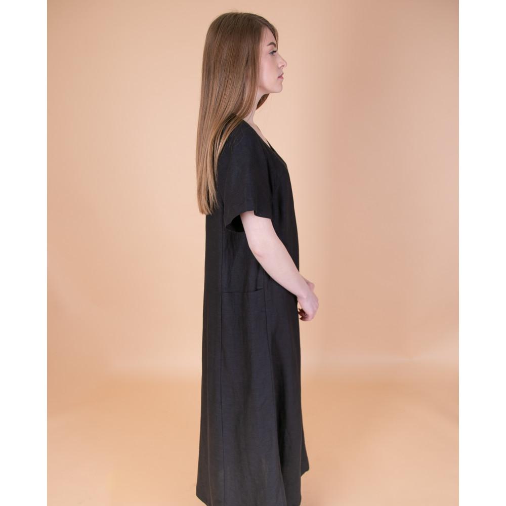 Сукня максі чорна