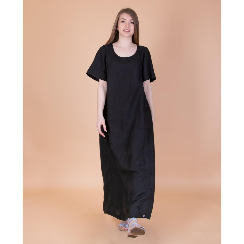 Зображення Сукня максі чорна №1